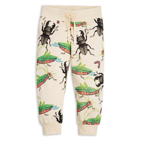 Mini Rodini SS17 Cream Insects Kid's Sweat Pants
