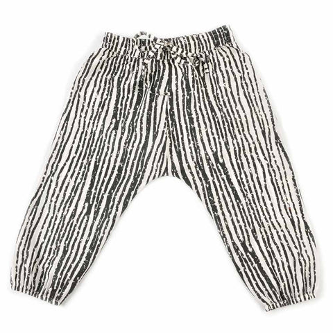 Nadadelazos Tokio Black Stripe Pants - Yellow Lolly