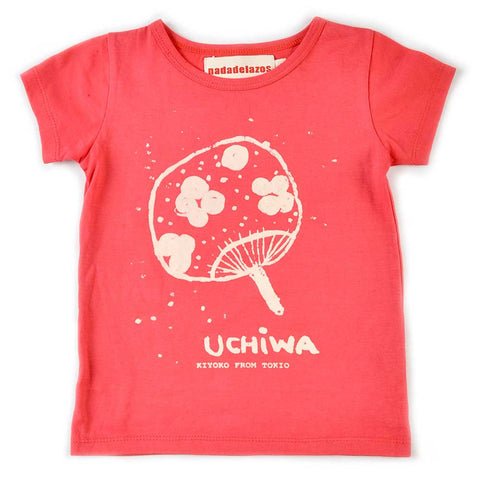 Nadadelazos Cherry Red Uchiwa T-Shirt