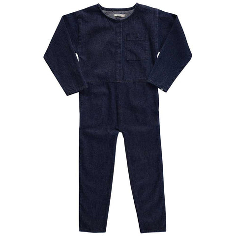 Popupshop AW16 Canvas Denim Jumpsuit at Yellow Lolly
