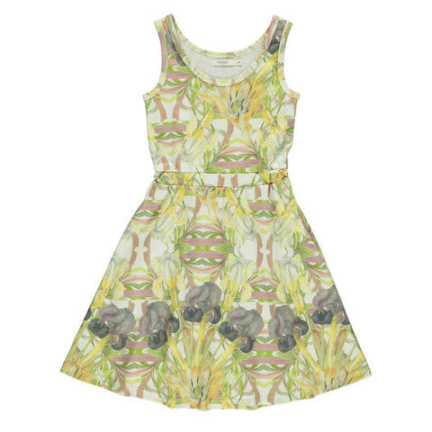 Popupshop Flower Girl's Vest Dress at Yellow Lolly