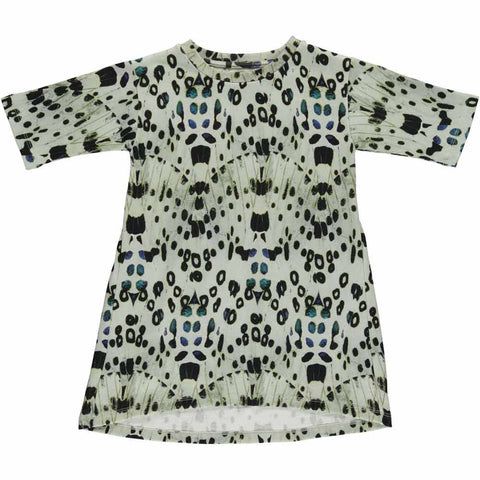 Popupshop Butterfly Lightweight Sweat Dress at Yellow Lolly