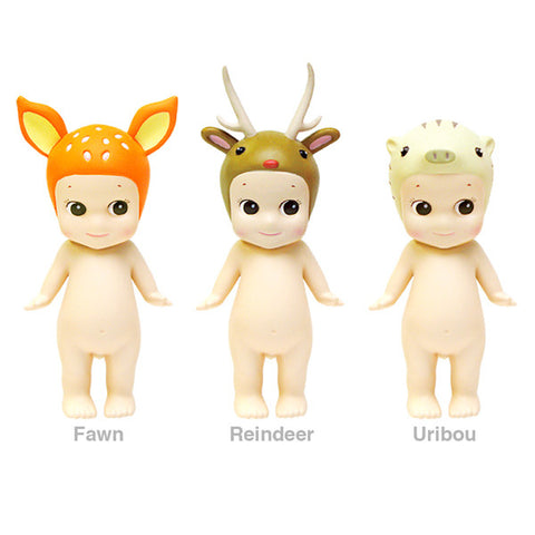 Sonny Angel Animals Series 2 from Yellow Lolly - Fawn, Reindeer and Uribou