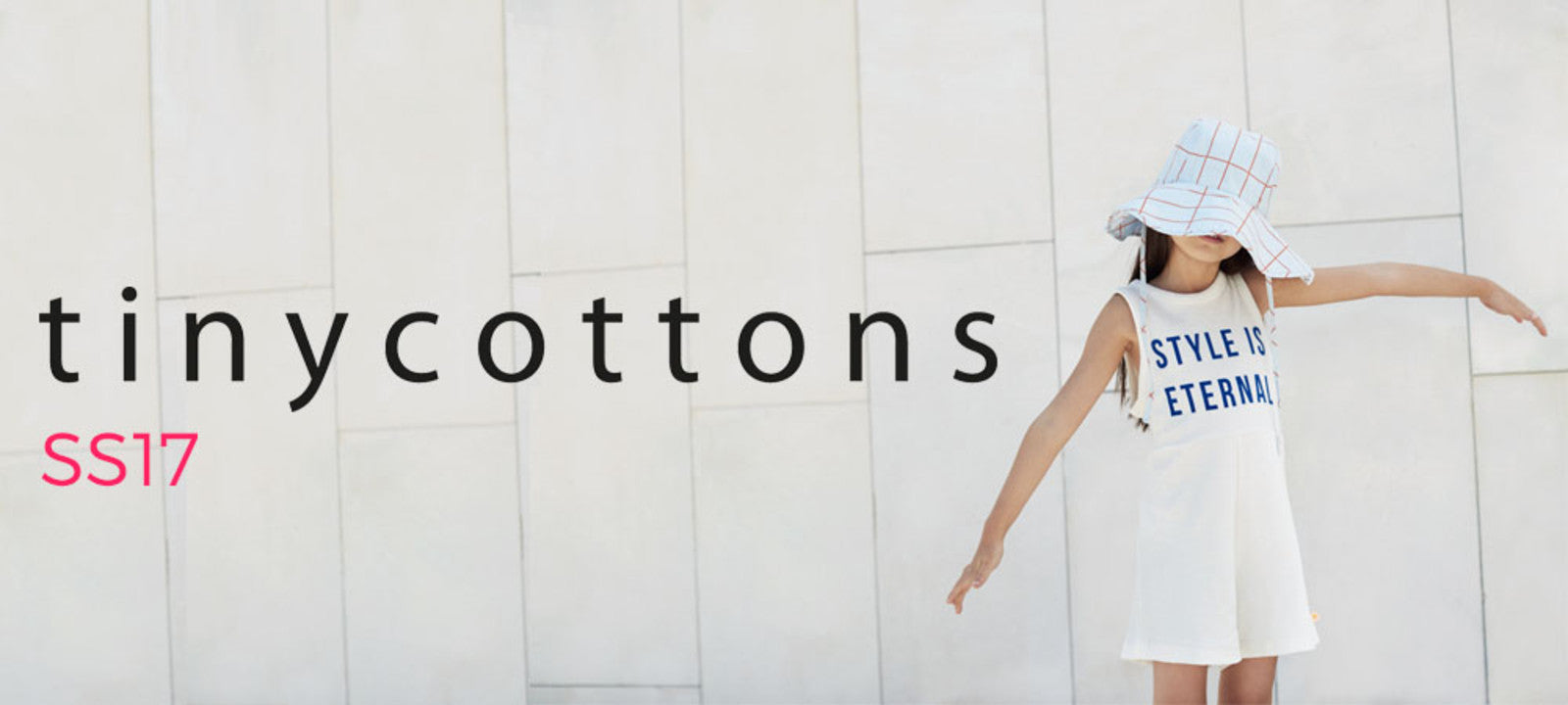 Tinycottons SS17 'A Tribute To' at Yellow Lolly Children's Fashion Boutique
