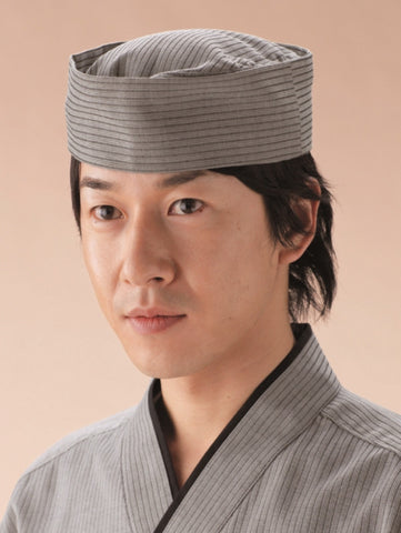 Dobby Stripe Japanese Hat