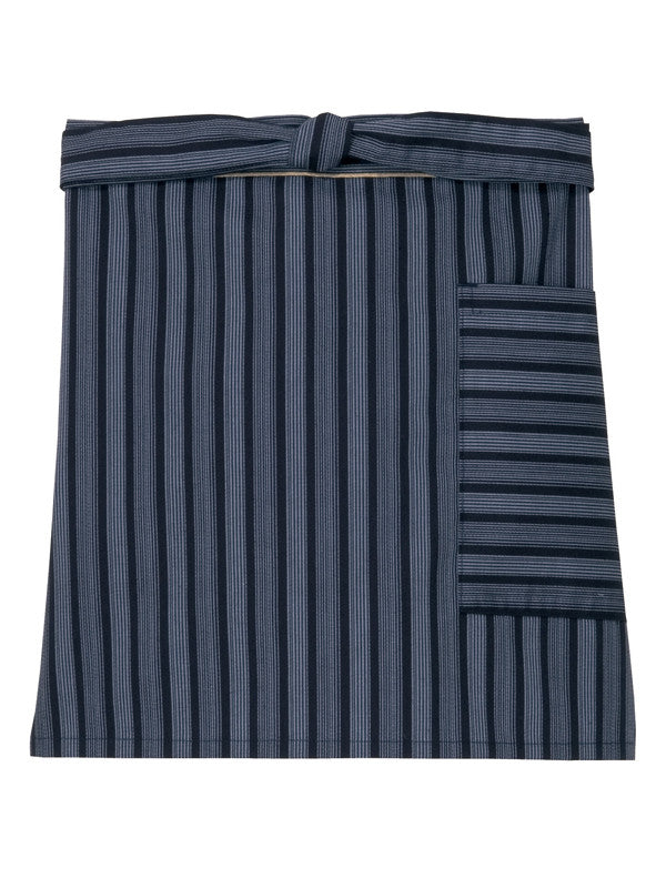 Waterfall Stripe Short Cafe Apron