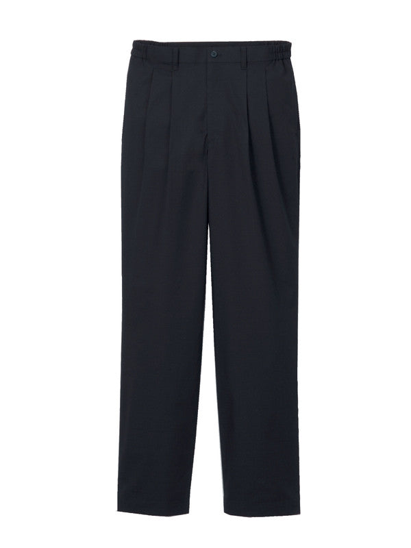 Shantung Double Pleated Pants Men