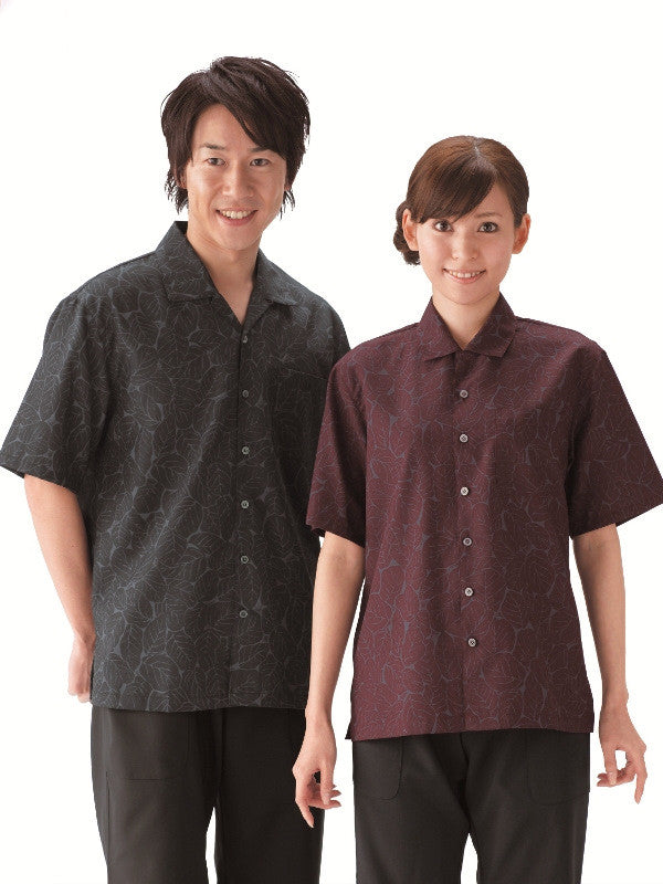 Leaf Pattern Shirts