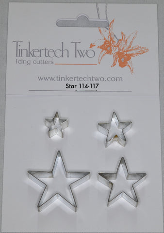 Tinkertech Star - set of 4