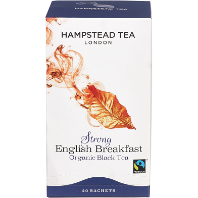 Organic Fairtrade Strong English Breakfast - Hampstead Tea - Biodynamic, Organic and Fairtrade Tea - 3