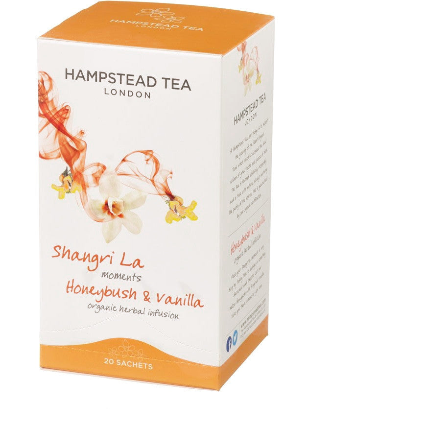 Hampstead Tea Organic Honeybush & Vanilla Tea Bags - Hampstead Tea - Biodynamic and Organic Teas