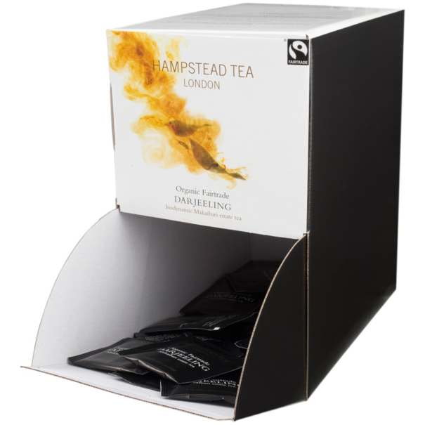 Hampstead Tea Bulk Organic and Fairtrade Darjeeling Tea Bags - Hampstead Tea - Biodynamic and Organic Teas