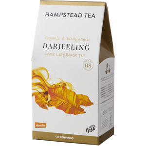 Trade Case of Organic Demeter Darjeeling Pouches - Hampstead Tea - Biodynamic and Organic Teas
