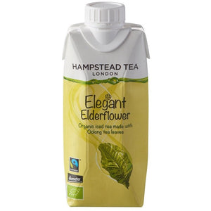 Organic Demeter and Fairtrade Oolong Iced Tea with Elderflower - Hampstead Tea - Biodynamic and Organic Teas