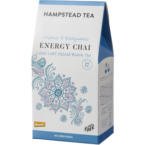 Trade Case of Organic Chai Pouches 6x100g - Hampstead Tea - Biodynamic and Organic Teas