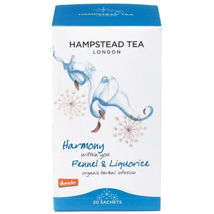 Organic Demeter Fennel & Liquorice - Hampstead Tea - Biodynamic and Organic Teas
