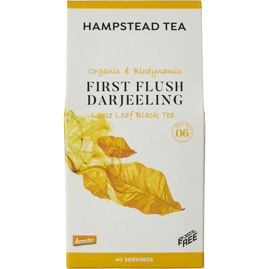 Trade Case of Organic Demeter First Flush Pouches - Hampstead Tea - Biodynamic and Organic Teas