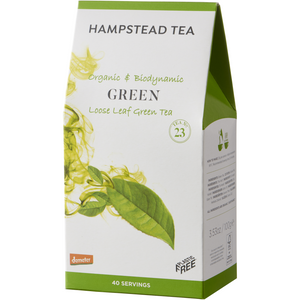 Trade Case of Organic Demeter Green Tea Pouches - Hampstead Tea - Biodynamic and Organic Teas
