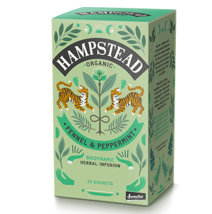 Organic Biodynamic Fennel & Peppermint - Hampstead Tea - Biodynamic and Organic Teas