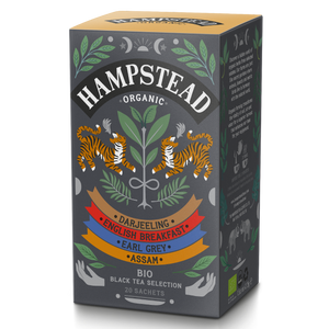 Hampstead Tea Organic Black Tea Selection Tea Bags - Hampstead Tea - Biodynamic and Organic Teas