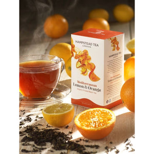 Organic Mediterranean Lemon & Orange Tea - Hampstead Tea - Biodynamic and Organic Teas