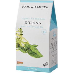 Trade Case of Organic Demeter Oolong Pouch 6 x 50g - Hampstead Tea - Biodynamic and Organic Teas