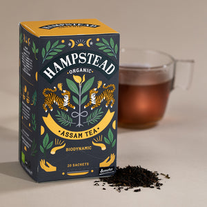 Hampstead Tea Organic Assam Tea Bags - Hampstead Tea - Biodynamic and Organic Teas