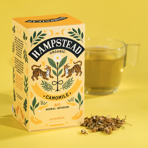 Hampstead Tea Organic Camomile Tea Bags - Hampstead Tea - Biodynamic and Organic Teas
