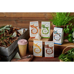 Organic English Breakfast Home Compostable Pyramids - Hampstead Tea - Biodynamic and Organic Teas