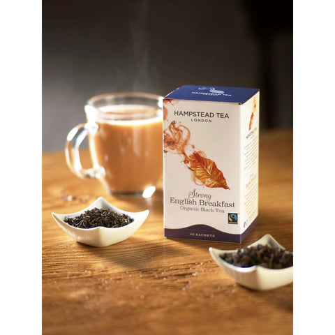 Organic Fairtrade Strong English Breakfast - Hampstead Tea - Biodynamic, Organic and Fairtrade Tea - 2