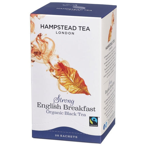 Trade Case of Organic Fairtrade Strong English Breakfast - Hampstead Tea - Biodynamic, Organic and Fairtrade Tea - 1