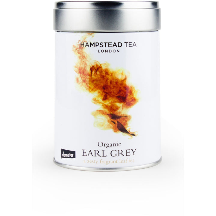 Organic Demeter Earl Grey Loose Leaf Tin - Hampstead Tea - Biodynamic and Organic Teas