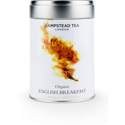 Trade Case of Organic English Breakfast Tin - Hampstead Tea - Biodynamic, Organic and Fairtrade Tea