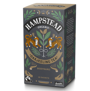 Organic and Fairtrade Darjeeling Tea Bags - Hampstead Tea - Biodynamic and Organic Teas