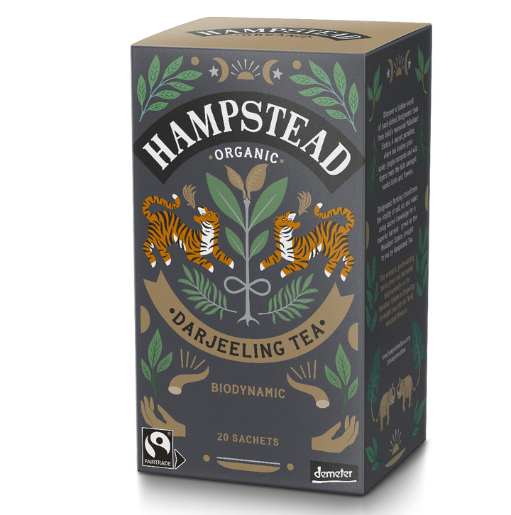 Organic and Fairtrade Pure Darjeeling - Hampstead Tea - Biodynamic and Organic Teas