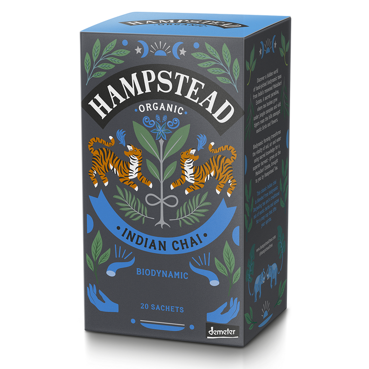 Hampstead Tea Organic Indian Chai Tea Bags - Hampstead Tea - Biodynamic and Organic Teas