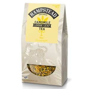 Hampstead Tea Organic Camomile Loose Leaf - Hampstead Tea - Biodynamic and Organic Teas
