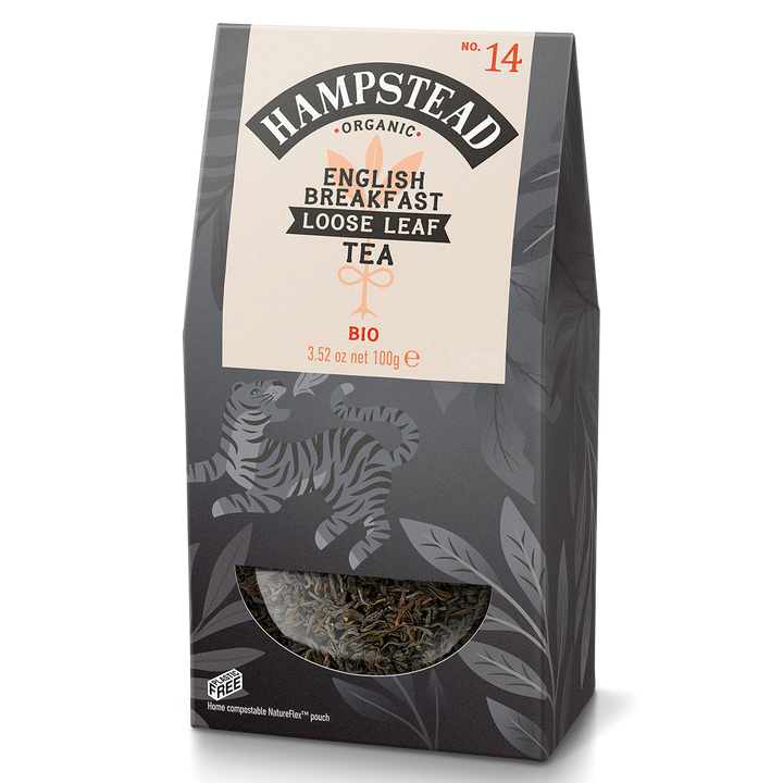 Hampstead Tea Organic English Breakfast Leaf Tea - Hampstead Tea - Biodynamic and Organic Teas