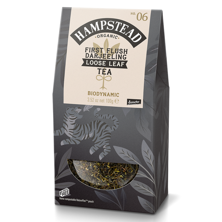 Hampstead Tea Organic First Flush Loose Leaf Tea - Hampstead Tea - Biodynamic and Organic Teas