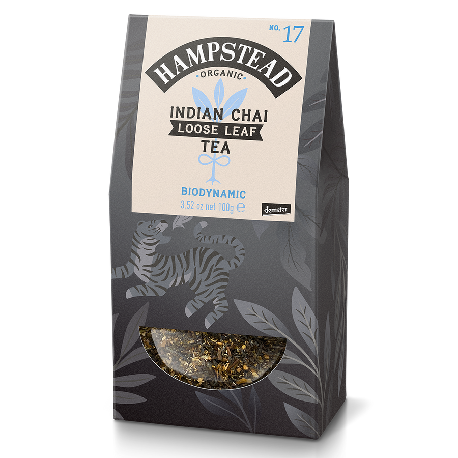 Hampstead Tea Organic Chai loose Leaf Tea - Hampstead Tea - Biodynamic and Organic Teas