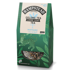 Organic Oolong Loose Leaf Tea - Hampstead Tea - Biodynamic and Organic Teas