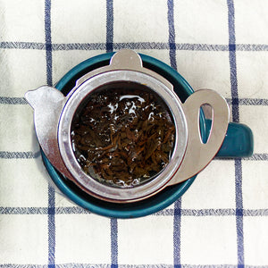 Tea Filter with Saucer - Hampstead Tea - Biodynamic and Organic Teas