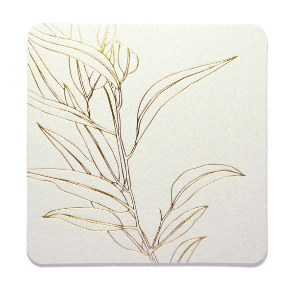 C105 - Eucalyptus Coaster Set of 8