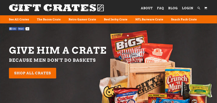 GiftCrates.com - Gift Baskets for Real Men