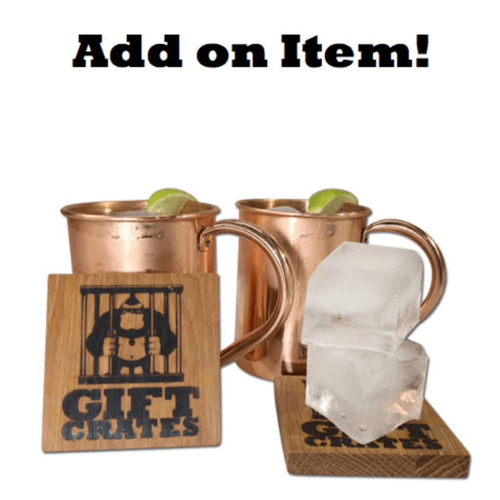 Moscow Mule mugs and coasters