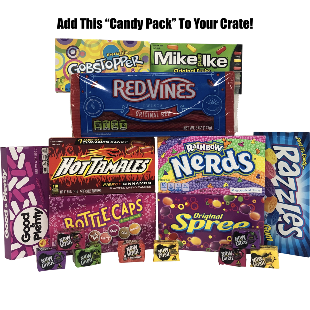 Gift Crates Candy Pack