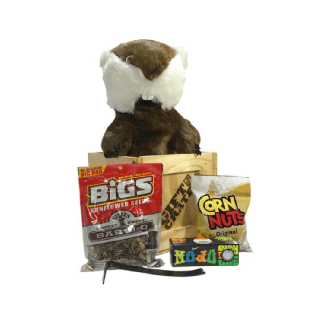 Gopher golf headcover bogey crate