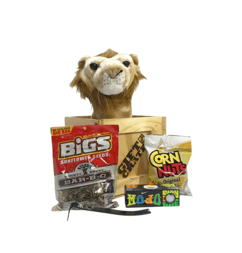 Lion golf headcover bogey crate