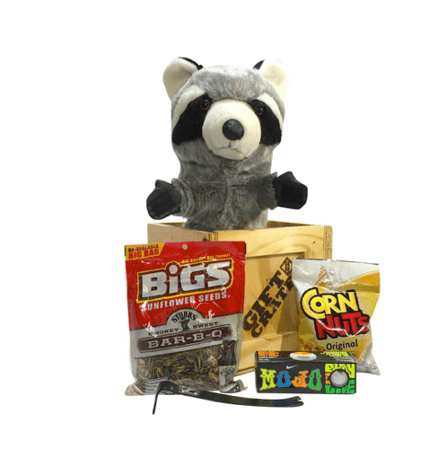 Raccoon golf headcover bogey crate