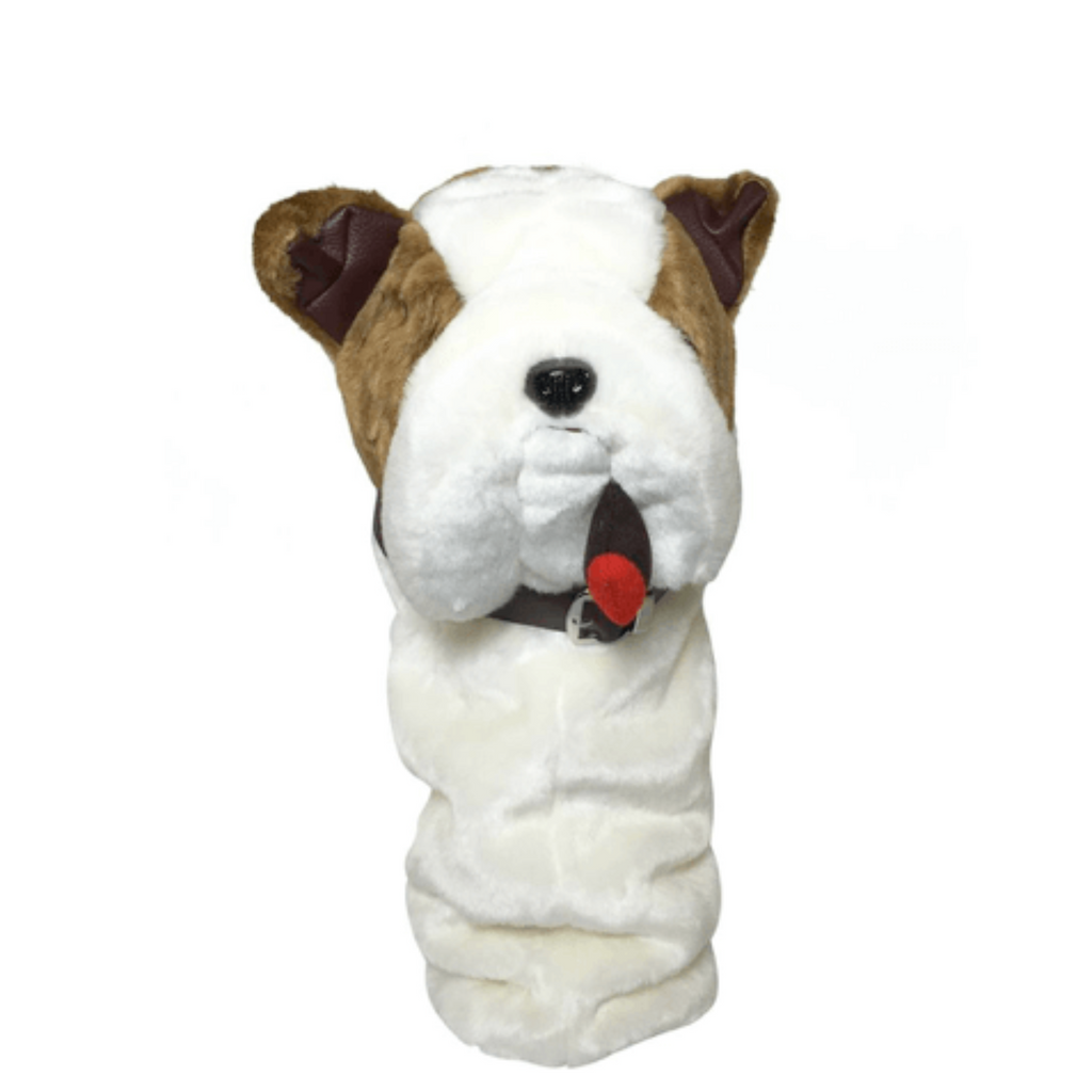 English Bulldog golf club headcover